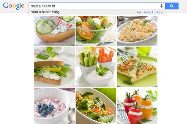 how to start a health blog