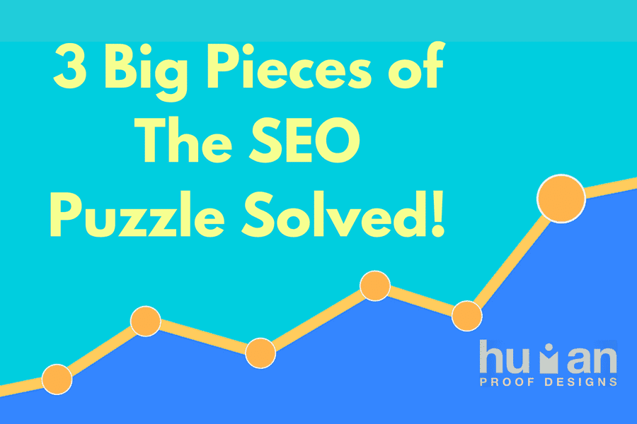 3 pieces of the SEO puzzle