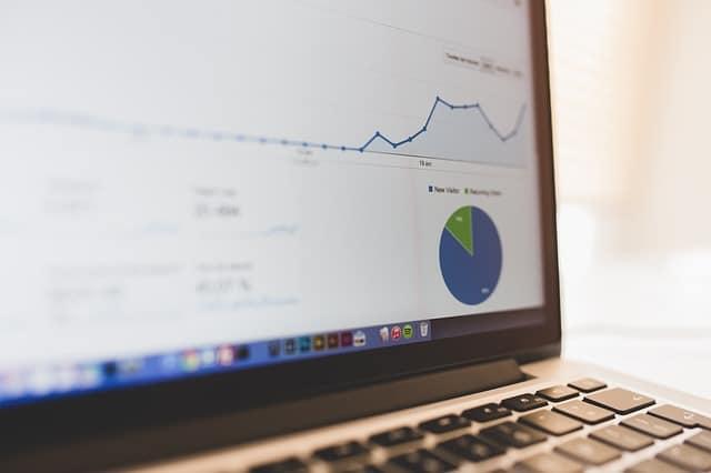 Google analytics from an Amazon affiliate niche site