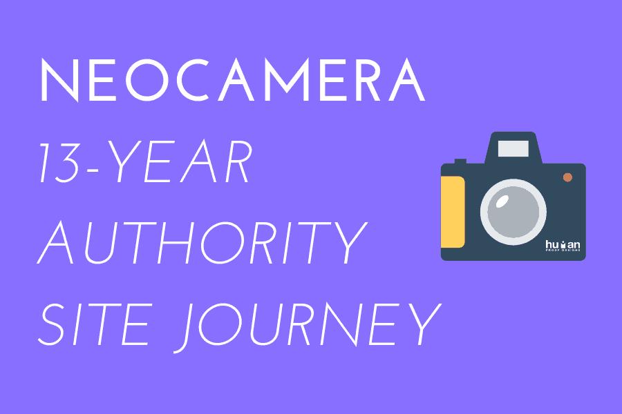NeoCamera Affiliate Site Journey