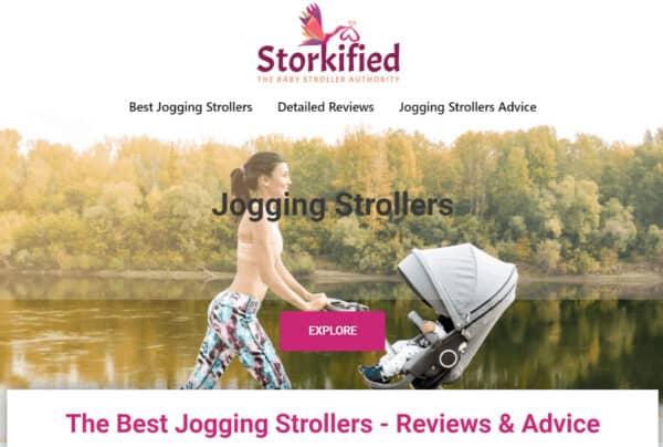 Storkified homepage